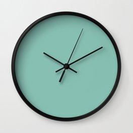 Belly Rub Digital Art ~ Mint Green Wall Clock