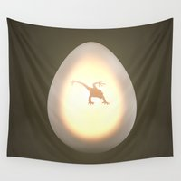 egg Wall Tapestries featuring Egg by Benjamin Ring