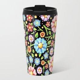 Ditsy Millefiori Pattern Travel Mug