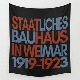 Bauhaus Poster Wall Tapestry