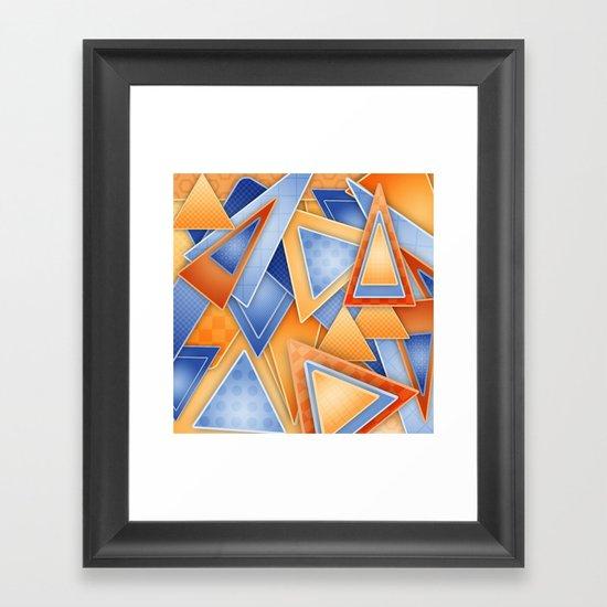 GeOmEtRiCity Framed Art Print