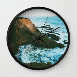 Pacific Coast Highway Wall Clock