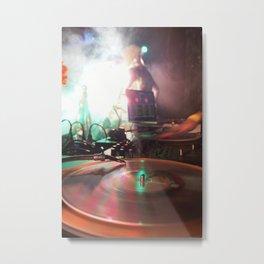 night spin Metal Print