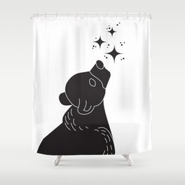Star Gazer Shower Curtain