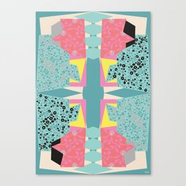 Paper Layer Canvas Print