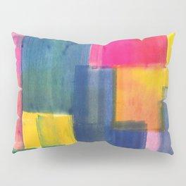 Color Block Series: Rooftops Pillow Sham