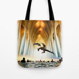 Church of Surf // 5 Tote Bag