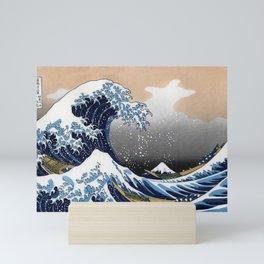 "Hokusai , "" The Great Wave off Kanagawa "" Mini Art Print"