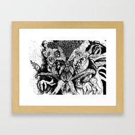 Dag gone it Dagon Framed Art Print