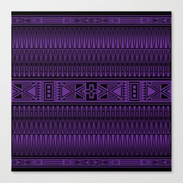 The Gathering (Purple) Canvas Print