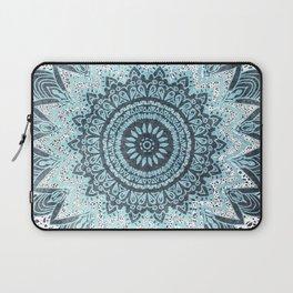 BOHOCHIC MANDALA IN BLUE Laptop Sleeve