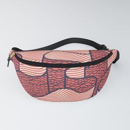 Ribbon in Red Fanny Pack