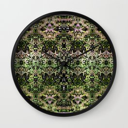 Pattern Au Naturel Wall Clock