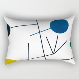 Sophie Taeuber-Arp - Rising, falling, clingin, flying - Digital Remastered Edition Rectangular Pillow