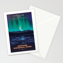 Wapusk National Park Poster Stationery Cards
