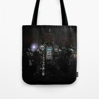 warhammer Tote Bags featuring Death Incarnate by John Medbury (LAZY J Studios)