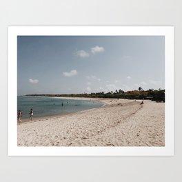 nusa dua beach Art Print