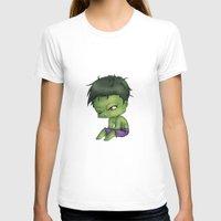 chibi T-shirts featuring Chibi Hulk by artwaste