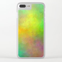 Cosmic Space Clear iPhone Case