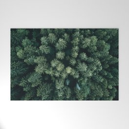 Forest from above - Landscape Photography Welcome Mat