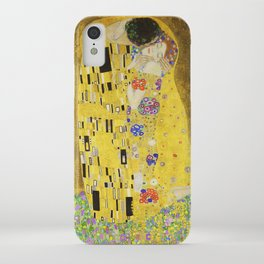 The Kiss - Gustav Klimt, 1907 iPhone Case