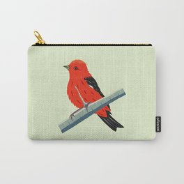 Scarlet Tanager - Bird Carry-All Pouch
