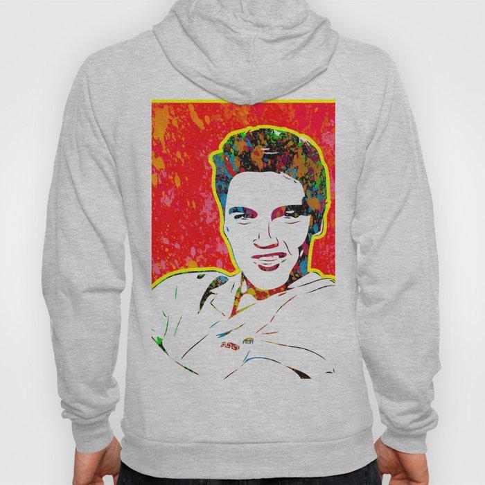 Elvis   Splatter Series   Presley   Pop Art Hoody