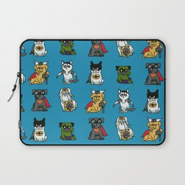 Superhero Puppies Laptop Sleeve