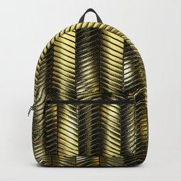 Alien Columns - Pure Gold Backpack