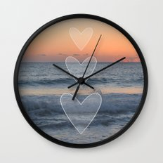 Dusk or Dawn Wall Clock
