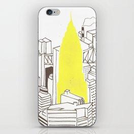New York Chrysler Building iPhone Skin