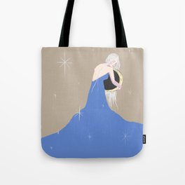 Guarding the Moon Tote Bag