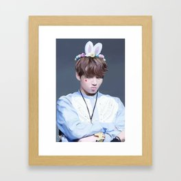Kookie bun Framed Art Print