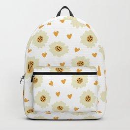 Fashion Lovely Flower Pattern Art Backpack