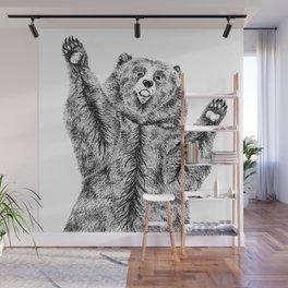 Bears just want hugs Wall Mural