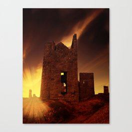 Tin Mine Canvas Print