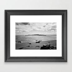 Beach - New Zealand South Coast Framed Art Print