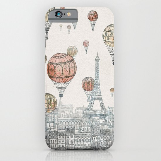 Voyages Over Paris iPhone & iPod Case