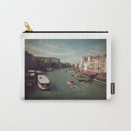 Vintage Venice Carry-All Pouch