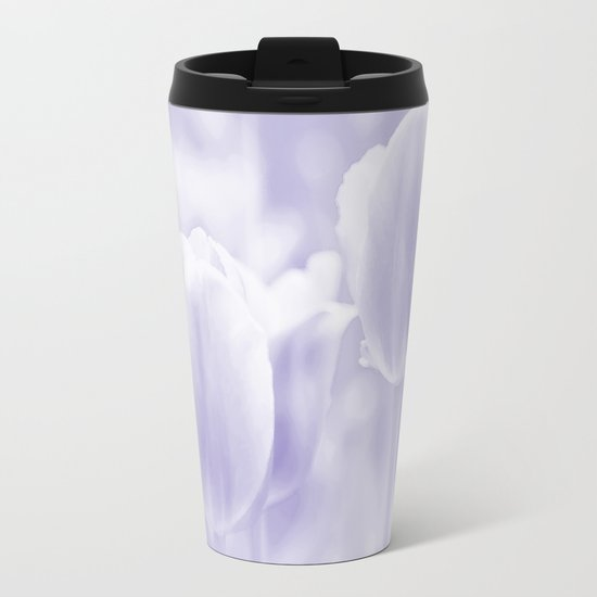 Day dream in shades of violet - spring atmosphere Metal Travel Mug