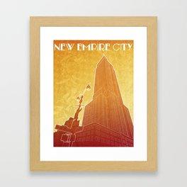 New Empire City Framed Art Print