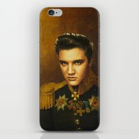 replaceface iPhone & iPod Skins featuring Elvis Presley - replaceface by replaceface