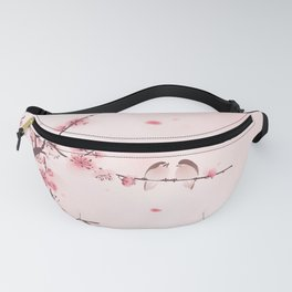 Oriental cherry blossom in spring 005 Fanny Pack