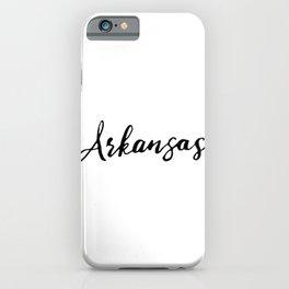 Arkansas (AR; Ark.) iPhone Case