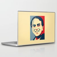 carl sagan Laptop & iPad Skins featuring Carl Sagan 'Hope' by cvrcak