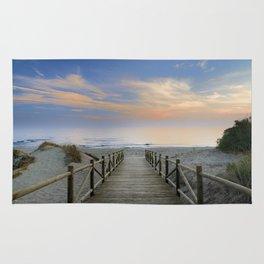 """The path..., the beach.... """"Artola"""". Rug"""