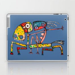 Ballerina riding Laptop & iPad Skin