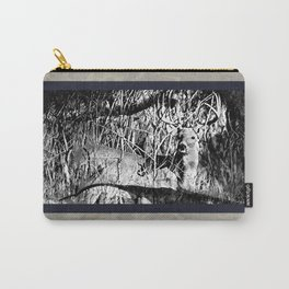 Whitetail Buck Hunting Design Carry-All Pouch
