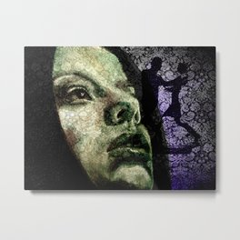 There are no dancers, there is only the dance... Metal Print