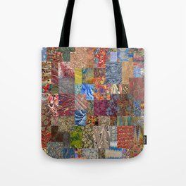 Turkish Marbled Paper Art (Ebru) Tote Bag